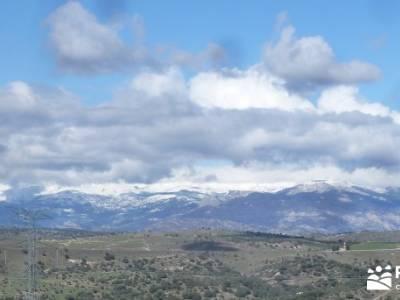 Río Manzanares - Puente Marmota; nieve en la sierra de madrid; viajes septiembre; club senderismo